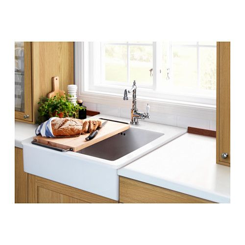Ikea Farmers Sink: GLITTRAN Kitchen Faucet, Chrome Plated