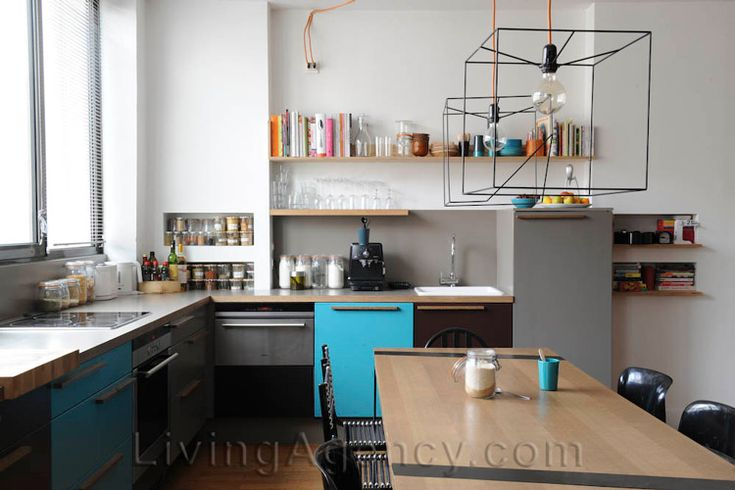 Funky Kitchen Wall Lights : Funky Kitchen Lighting - Funky Kitchen Lighting Above Wood Cabinet For Small Spaces With Yellow ...