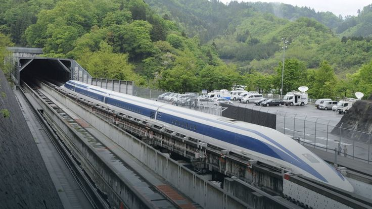 Japonia: rekord prędkości pociągu elektromagnetycznego - 603 km/h #nauka