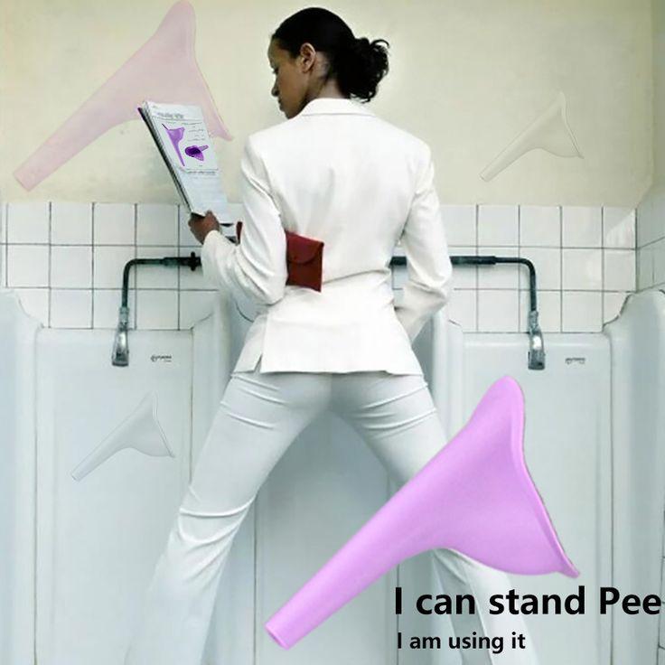 girls pee standing up demo