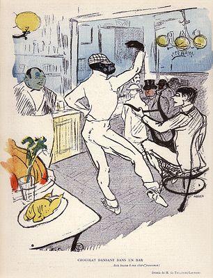 Toulouse-Lautrec - LR 11 - Chocolat dansant dans un bar