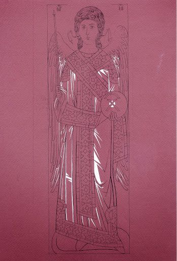 Studio icona Arcangelo Gabriele dal Monastero di Decani (1340 circa) - iconecristiane - Picasa Web Albums