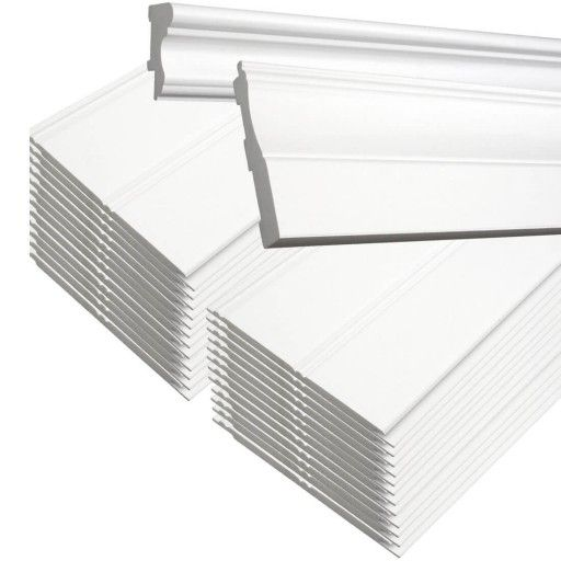 """42"""" Plastibec PVC Beadboard KIT, 1/4""""T x 46-1/4""""H x 96""""L"""