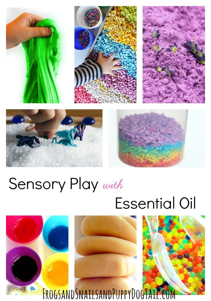 Sensory Play Ideas for Kids with Essential Oil - FSPDT