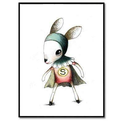 Bob Noon Illustration Super Kid Girl
