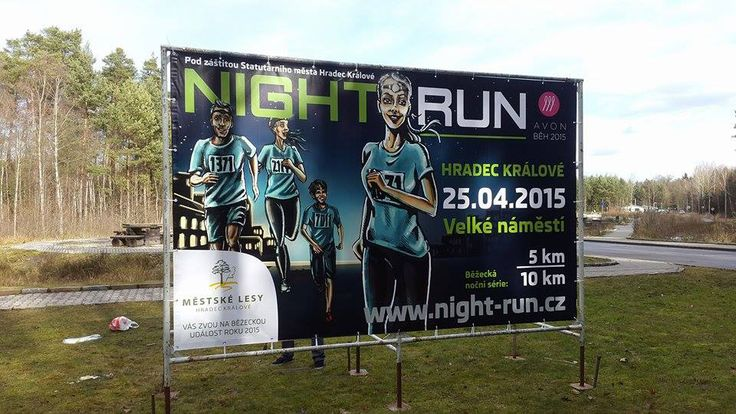 night run billboard