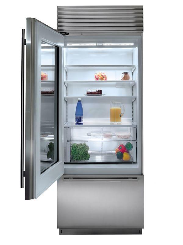 30 Built In Over And Under Glass Door Refrigerator Freezer Panel Ready Bi 30ug O Sub Zero Applia Refrigerator Freezer Glass Door Refrigerator Glass Door
