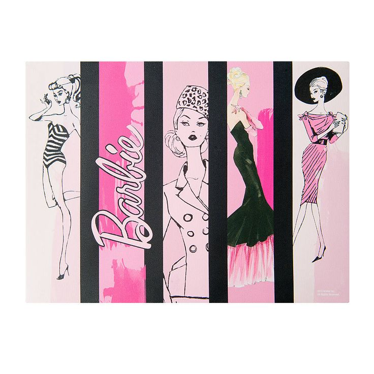 Barbie Style Wall Canvas
