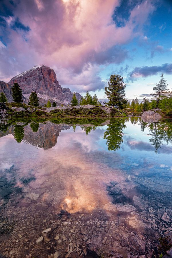 Tofana di Rozes by Daniele Orsi in the Italian Dolomites, province of Belluno, Veneto, Northern Italy