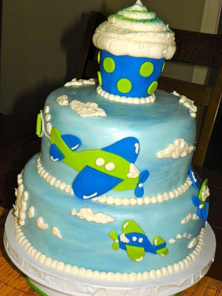 Airplane Birthday Cake Pinterest