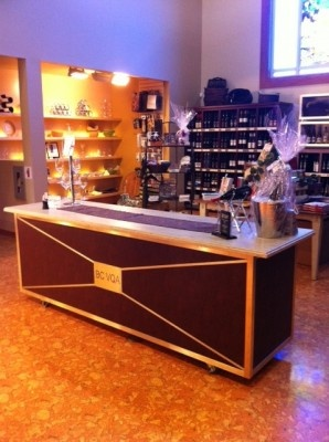 Our new tasting bar!