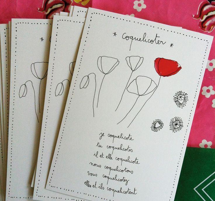 Mooi! vertaling van Coquelicoter: het vertellen/lezen van eenvoudige verhalen, die universeel zijn en die het hoofd en het hart stof tot nadenken geven.