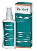Hairzone (solution) - 60 ml by Himalaya. $5.00. Antimicrobial, Astringent & Antioxidant actions. Follicular degenaration-inhibitory. Hair grown cycle-stimulatory. Hair Loss due to varied etiology. Hair fall due to dry & itchy scalp. Hairzone has hair follicular degeneration-inhibitory, hair growth cycle-stimulatory, antimicrobial, astringent, and antioxidant actions. The two herbs present in Hairzone act synergistically to reduce inflammation and itching of the scal...