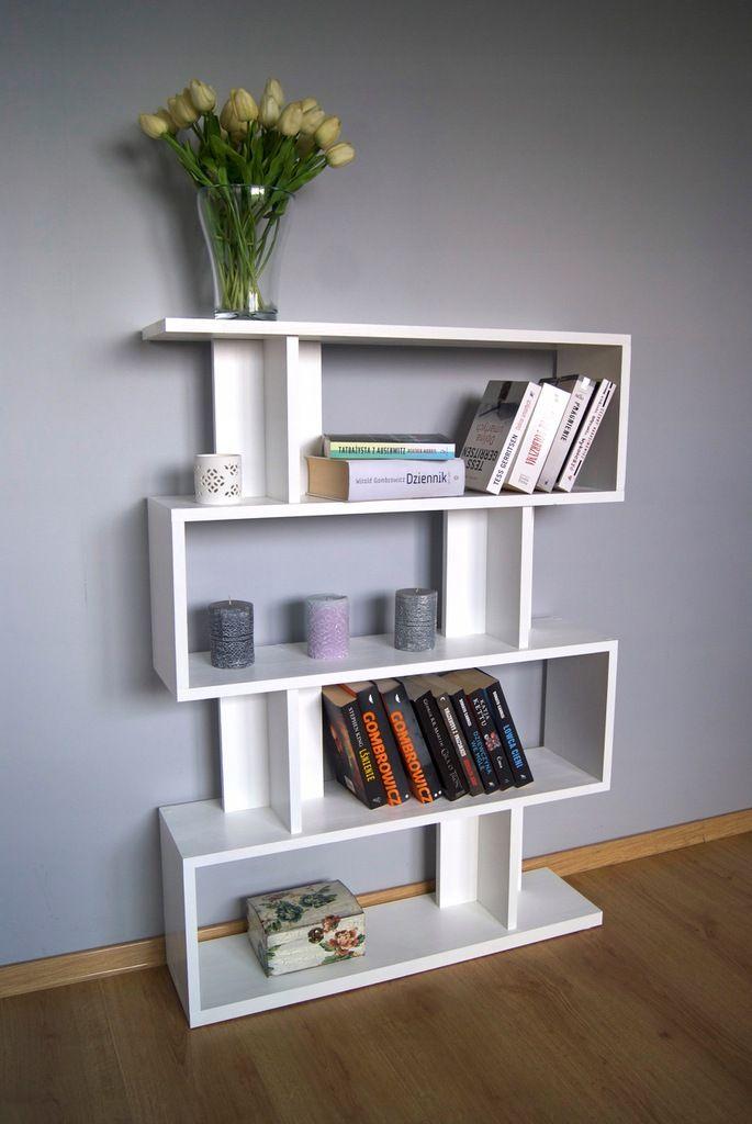 Regal Stojacy Drewniany Salon Drewno Ksiazki 7685004338 Oficjalne Archiwum Allegro Home Decor Shelves Decor