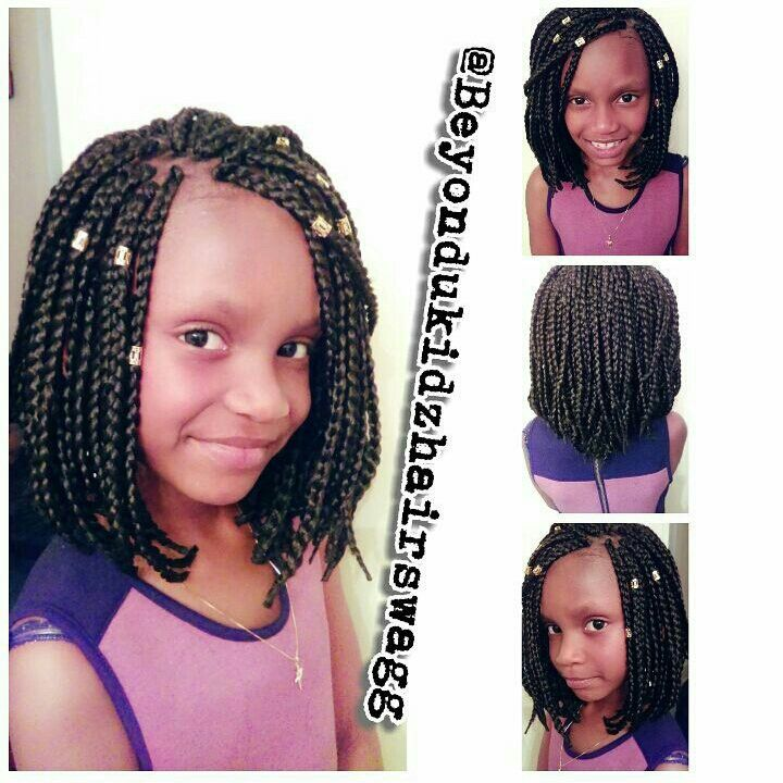 Top 25 ideas about Kids Box Braids on Pinterest Kids braided ...