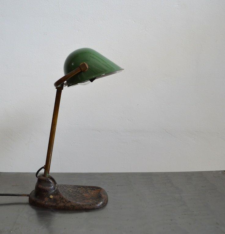 Banker's lamp (artKRAFT Industrial design)