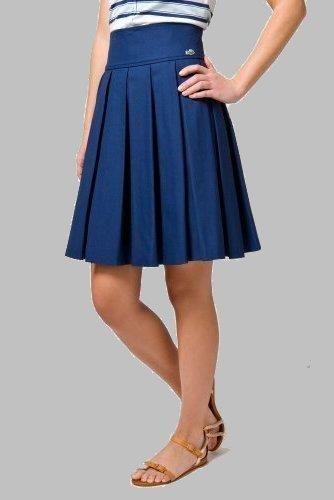 Вязаная юбка в складку гофре