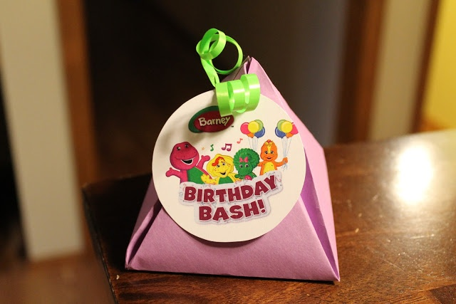 Barney and Friends Birthday Party