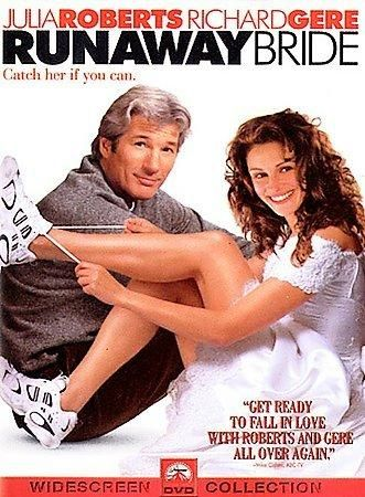 A down-and-out big-city reporter (Richard Gere), in a last-ditch effort to save his tarnished career, chases a scoop on a mercurial, small-town girl (Julia Roberts) known as the Runaway Bride, due to