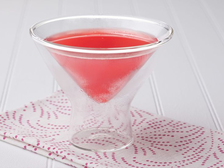 Food Network French Pomegranate Martini