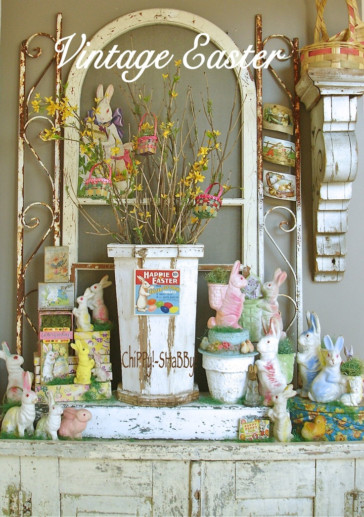 ChiPPy! - SHaBBy!: ViNtaGe Easter Bunnies *ChiPPy!-SHaBBy! S*T*Y*L*E...