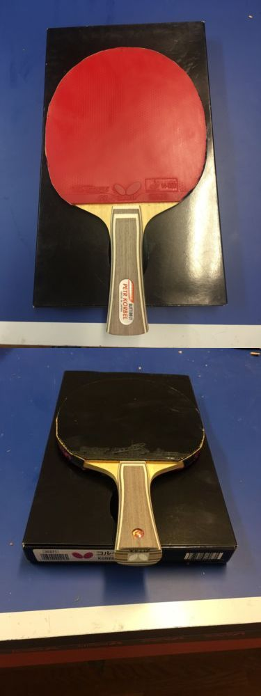 Paddles 36277: Butterfly Table Tennis Peter Korbel Blade W Tenergy64andcorbor Rubbers Set -> BUY IT NOW ONLY: $99.99 on eBay!