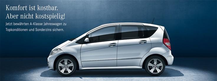 3,88 % Sonderzins beim Kauf eines A-Klasse Jahreswagen als Jungen Stern! Wow! Das lohnt sich aber!  http://pinterest.com/pin/194710383860813851/