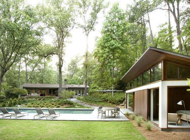 Nancy Creek Guest House | Philip Babb Architect - Atlanta
