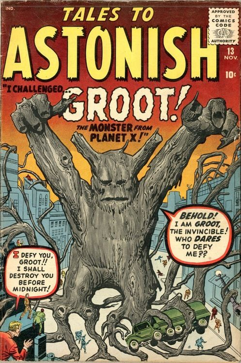 Tales To Astonish #13, November 1960. Cover art by Jack Kirby, Steve Ditko, and Stan Goldberg.