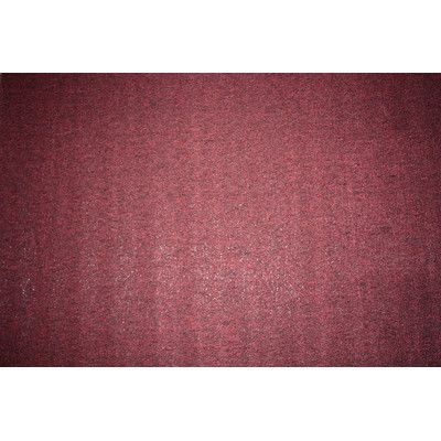 "J&M Home Fashions Washable Doormat Color: Burgundy, Rug Size: Runner 1'10"" x 5'"