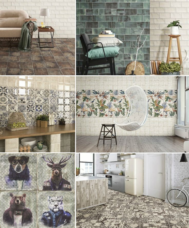 The Spanish brand Mainzu continues the experiments with small-size tile. The Livorno, Oporto and Lisboa collections are conceived in the unique size of 20×20 cm. Tavira is composed of the concave pieces of 15×15 cm. Verona and Laton are ideated as brickwork-effect series of 10×20 cm. However the traditional sizes do not mean that only classical motives are employed. Therefore the new arrivals by Mainzu also feature the ever-popular patchwork patterns, and even the funny hipster animals.