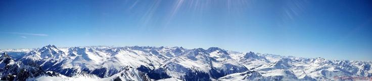 Panorama!! Great view at Valluga (Austria)