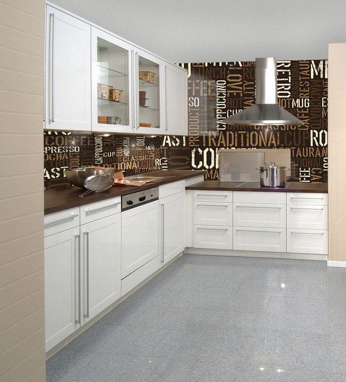 panele szklane z motywem kawowym. Idealna dekoracja do każdej kuchni. deKEA Polska