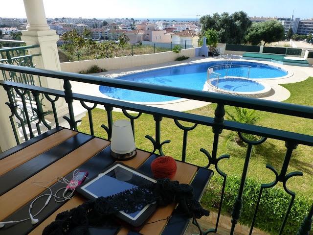 Jeg elsker min terrasse.