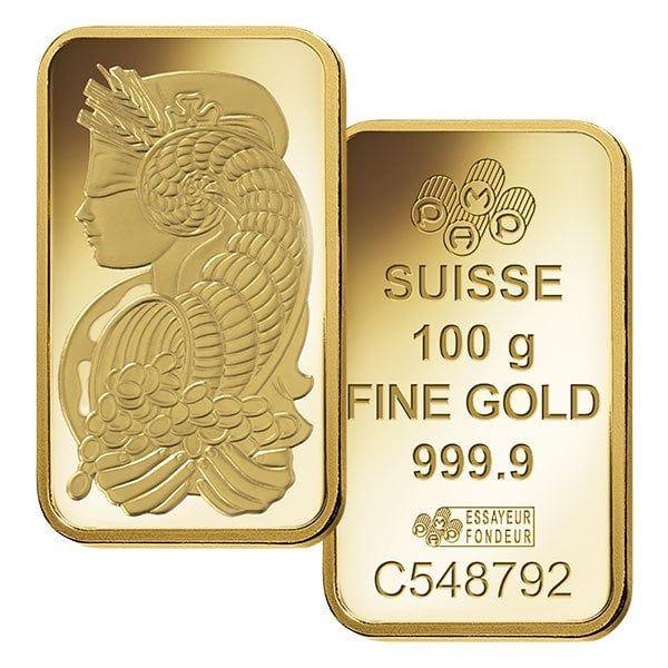 100 Gram Gold Bars For Sale Pamp Suisse Money Metals Gold Bullion Bars Gold Bullion Coins Gold Bars For Sale