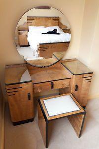 Original Art Deco Bedroom Suite - Refurbished | eBay