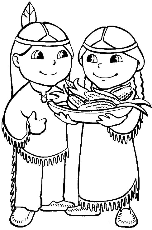 156 best images about cowboys en indianen on pinterest for Indian coloring pages for thanksgiving