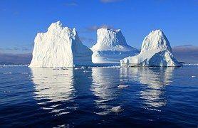 Ledovec, Voda, Moře, Zrcadlení