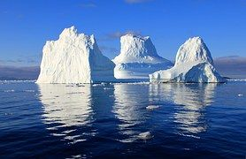 Iceberg, Agua, Mar, Espejado, Naturaleza
