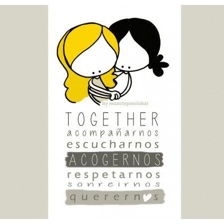 Hei sister... Aquí vamos...Juntas de la mano. Nos dejaron un poco más solas, pero nos llenaron el corazón y la Vida de abrazos, recuerdos, y agradecimiento infinito. Aquí vamos, juntas. Tú con tu Vida, y yo con la mía. Y la una en la de la otra.