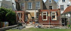 verbouw pakhuis tot appartement - in aanbouw | 2007