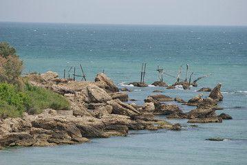 Costa dei Trabocchi  #trabocco #trabucco #vasto #abruzzo #italy #unesco #coast #coastal #sea #ruin
