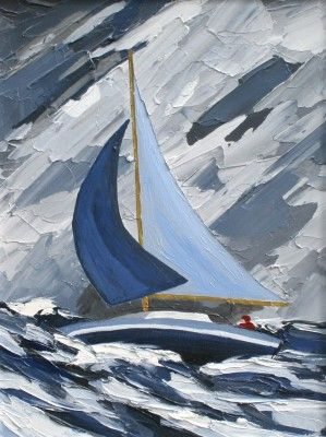 David Barnes artist, paintings and art at the Red Rag Modern Art Gallery