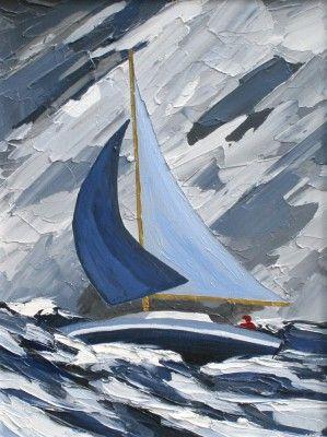 High Seas by Modern Contemporary Artist David BARNES