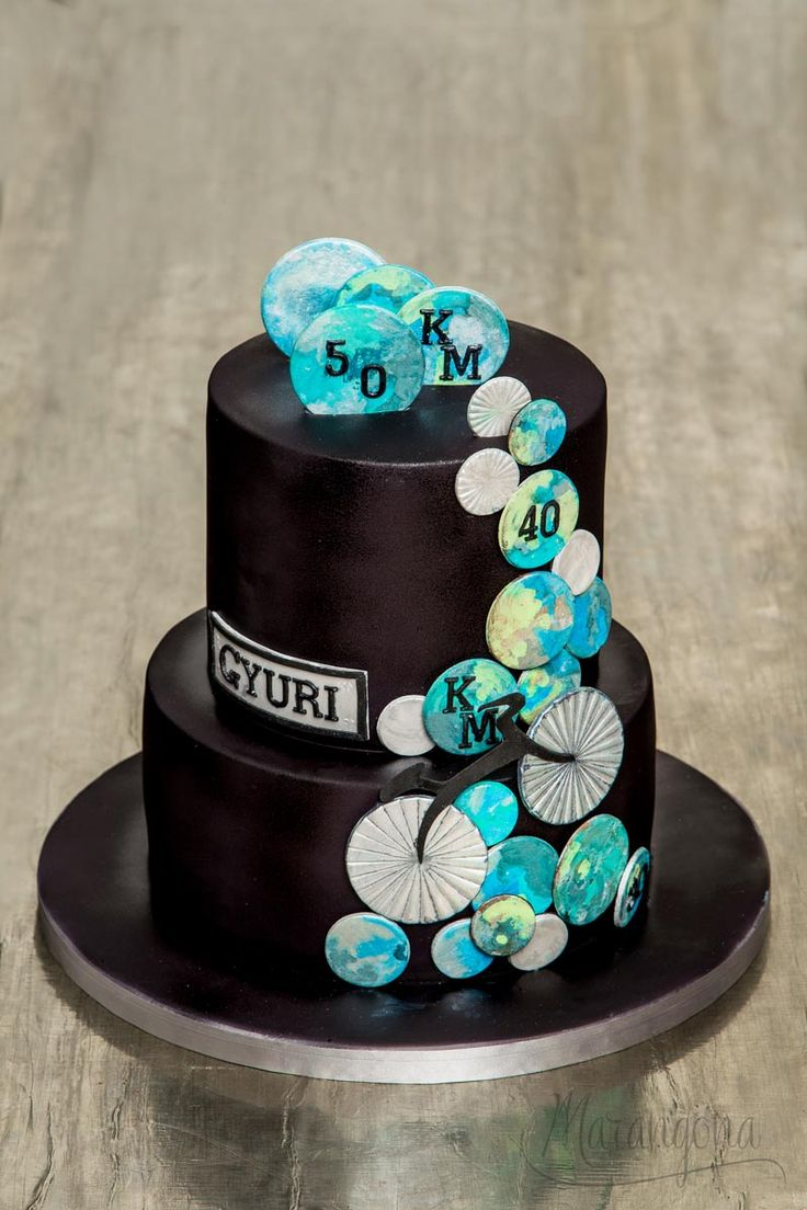 GY50 design cake by Marangona   decoration from sugar   covered by fondant   www.marangona.hu
