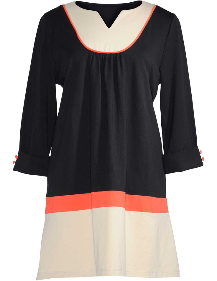 Multi-coloured shirt in Black / Beige designed by Manon Baptiste to find in Category Shirts & Blouses at navabi.de