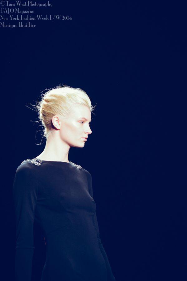New York Fashion Week 2014 Monique Lhuillier show