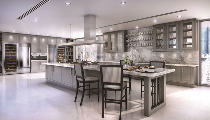 Clive christian contemporary kitchen finished in grey kitchen ideas pinterest chairs the - Clive christian kitchen cabinets ...
