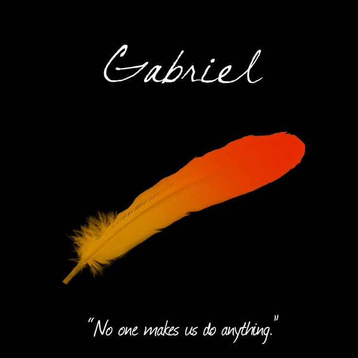 "[2/10] Supernatural's Angel's - Gabriel, Malfunction: Free Will. ""No one makes us do anything."""