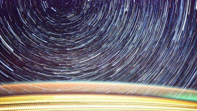 The Stars as Viewed from the International Space Station. on Vimeo